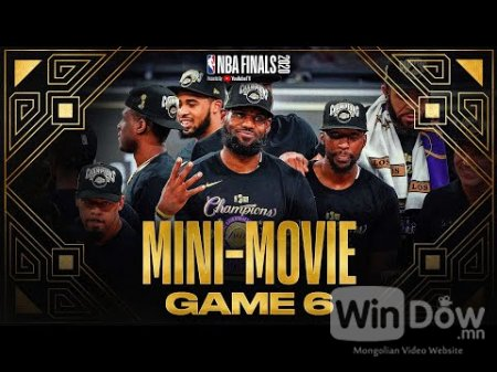 2020 #NBAFinals Game 6 Mini-Movie: Lakers Claim Banner 17
